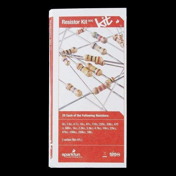 Resistor Kit - 1/4W (500 Total) (Com-10969) - Kits