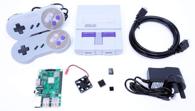 Retro Gaming Bundle (Includes Super Snes Case & Raspberry Pi) - Raspberry Pi Kits