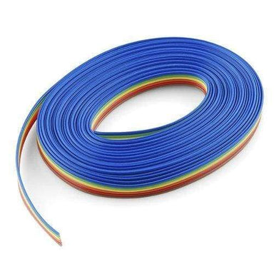 Ribbon Cable - 6 Wire (15Ft) - Cables And Adapters