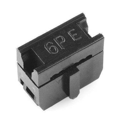 Ribbon Crimp Connector - 6-Pin (2X3 Female) - Connectors