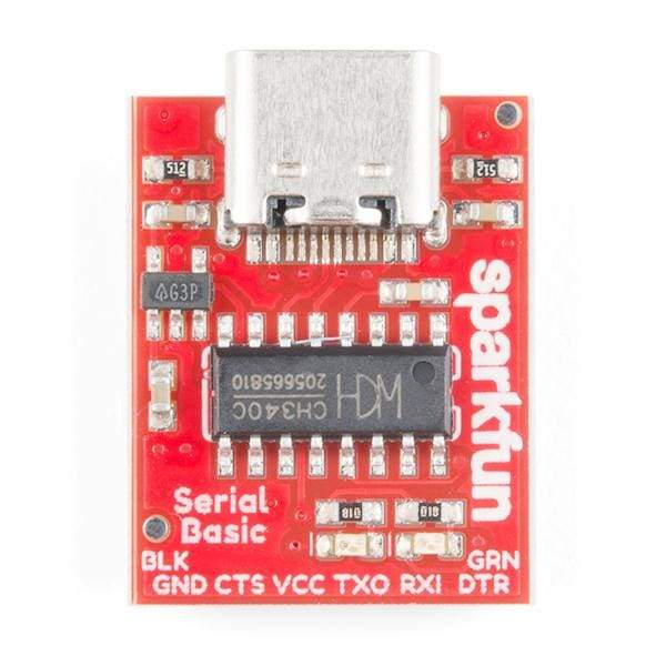 Serial Basic Breakout - Ch340C And Usb-C (Dev-15096) - Breakout Boards