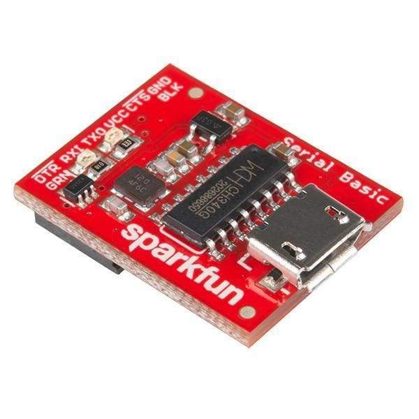 Serial Basic Breakout - Ch340G (Dev-14050) - Breakout Boards