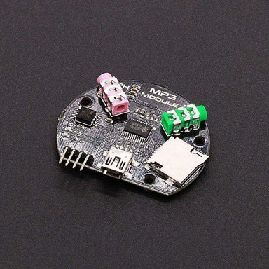 Serial Controlled Mp3 Module - Audio