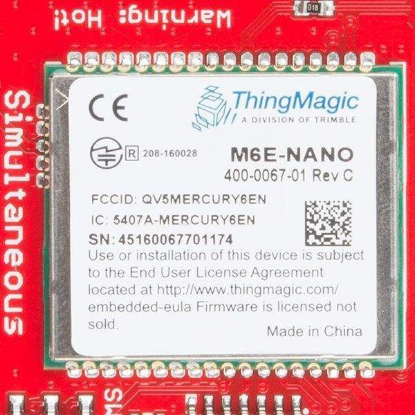 Simultaneous Rfid Reader - M6E Nano (Sen-14066) - Writers
