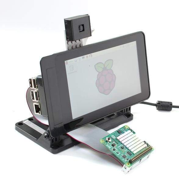 Smartipi Touch - Case For Official Raspberry Pi 7 Inch Screen - Smooth Front - Raspberry Pi Enclosures
