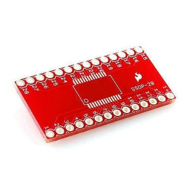 Ssop To Dip Adapter 28-Pin (Bob-00500) - Active Components