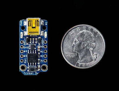 Trinket Mini Microcontroller - 3.3V (Id: 1500) - Derivative Boards