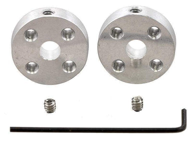 Universal Aluminium Mounting Hub For 5Mm Shaft M3 Holes (2-Pack) - Motors