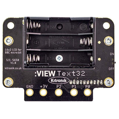 :VIEW text32 LCD Screen for the BBC micro bit - Micro:bit