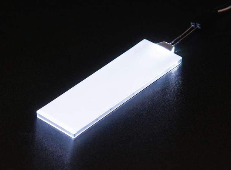 White Led Backlight Module - Medium 23Mm X 75Mm (Id: 1622) - Leds