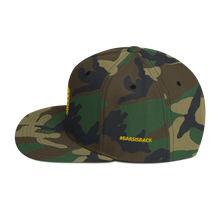 Load image into Gallery viewer, Bar Code Camouflage Snapback Hat