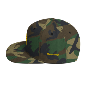 Bar Code Camouflage Snapback Hat