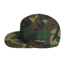 Load image into Gallery viewer, G.O.A.T. Camouflage Snapback Hat