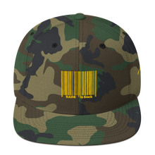 Load image into Gallery viewer, Bar Code Snapback Hat