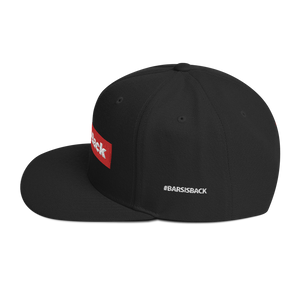 BARS Is Back Preme Snapback Hat