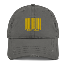 Load image into Gallery viewer, Bar Code Distressed Dad Hat