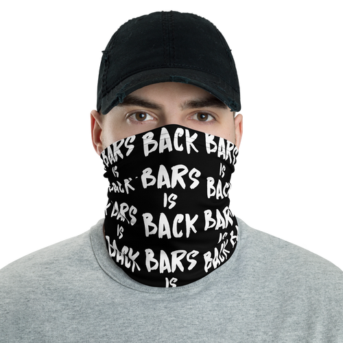 Bars Is Back Face Mask