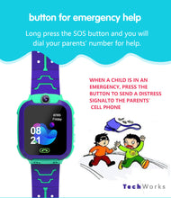 "Load image into Gallery viewer, New 2020 Kids Smart Watch ""Anti-Lost"" GPS System w Voice Chat"