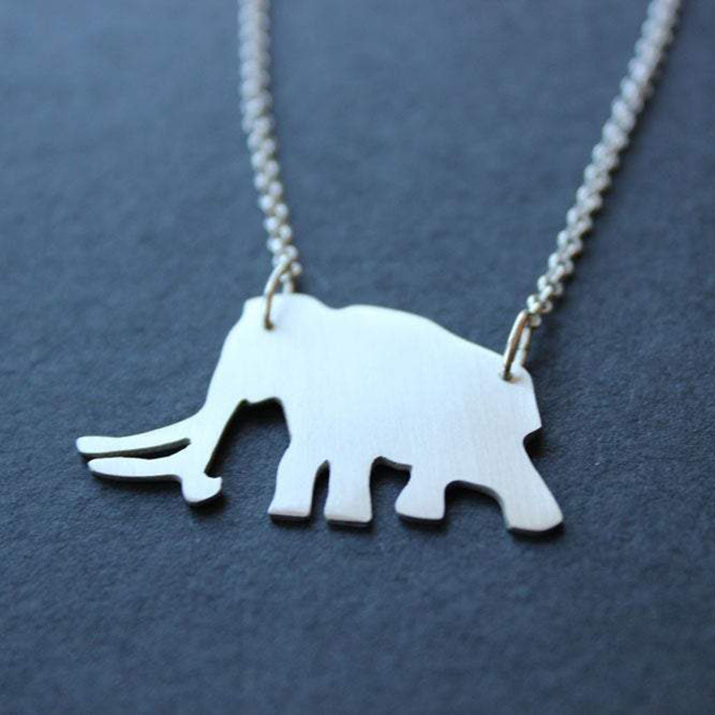 Woolly Mammoth Necklace