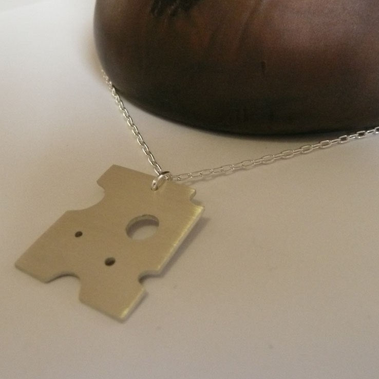 Swiss Cheese  Necklace