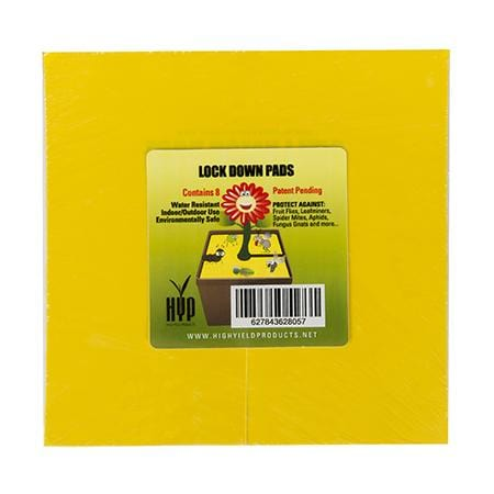 "HYP Lockdown Pads 6"" Square (Pack of 8) - London Grow"