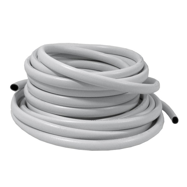 13mm White PVC Reinforced Hose Pipe - 1m - London Grow