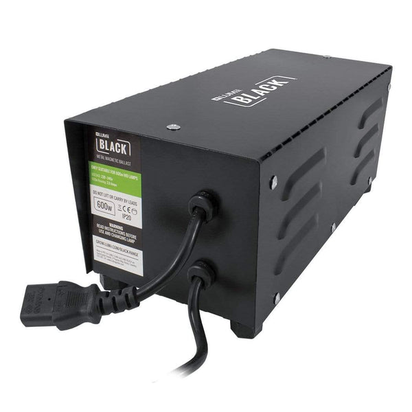 LUMii BLACK Magnetic Ballast 600W - London Grow