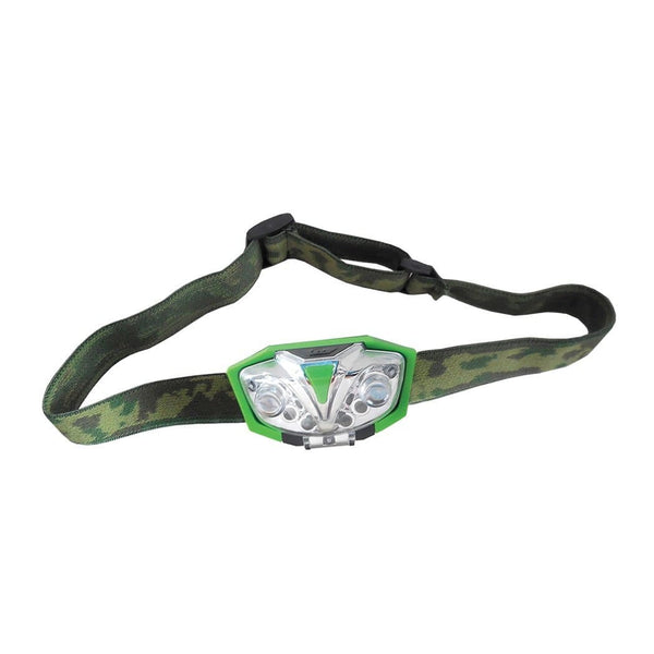 LUMii Green LED Head Torch - London Grow