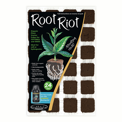 Growth Technology - Root Riot Tray of 24 - London Grow