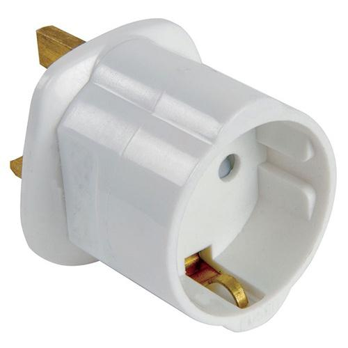 Euro to UK Adaptor Plug - London Grow
