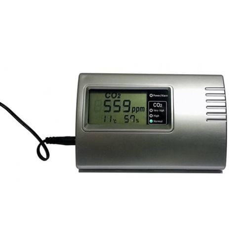 Dimlux - Co2 Monitor with Humidity and Temperature Sensor - London Grow