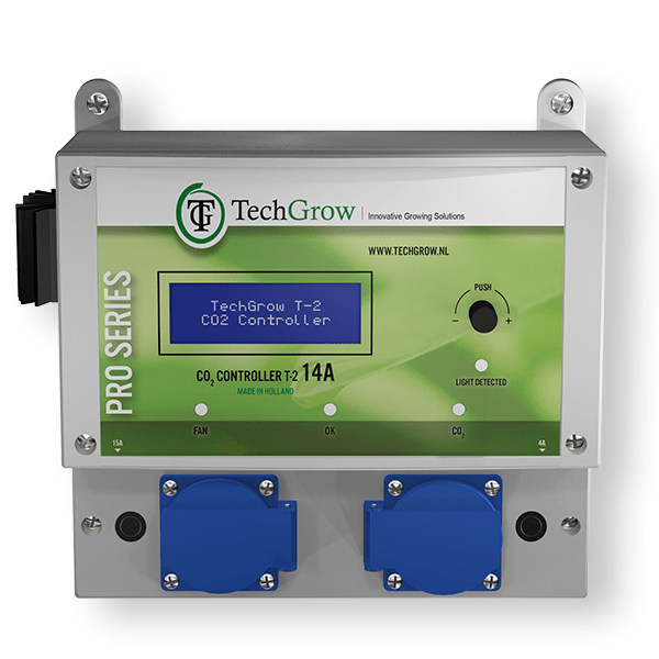 TechGrow -T-2 Pro CO2 Controller 7 Amp - London Grow