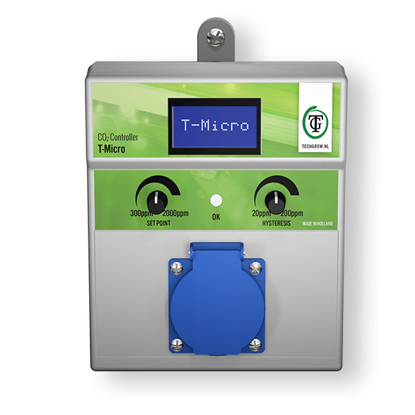 TechGrow - T-Micro CO2 Controller - London Grow