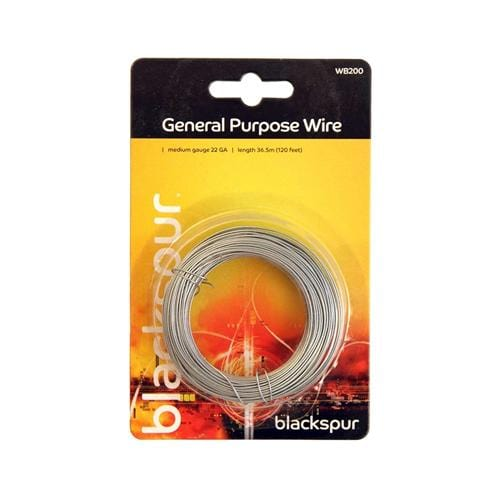 Blackspur General Purpose Wire - 22Ga - 36.5m(120ft) - London Grow