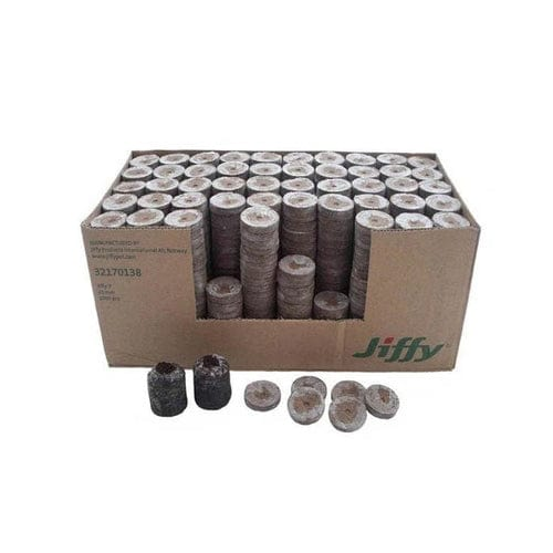 Jiffy - 7 38mm Peat Plug Full Box (1000 Plugs) - London Grow