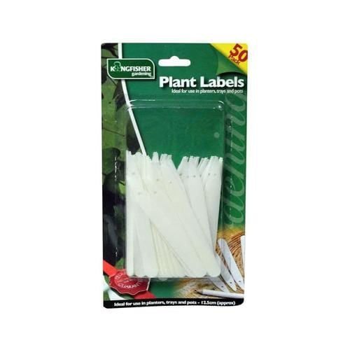 Kingfisher - 50 Plant Tags with Pencil - London Grow