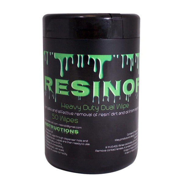 Resinoff - 50 wipes - London Grow