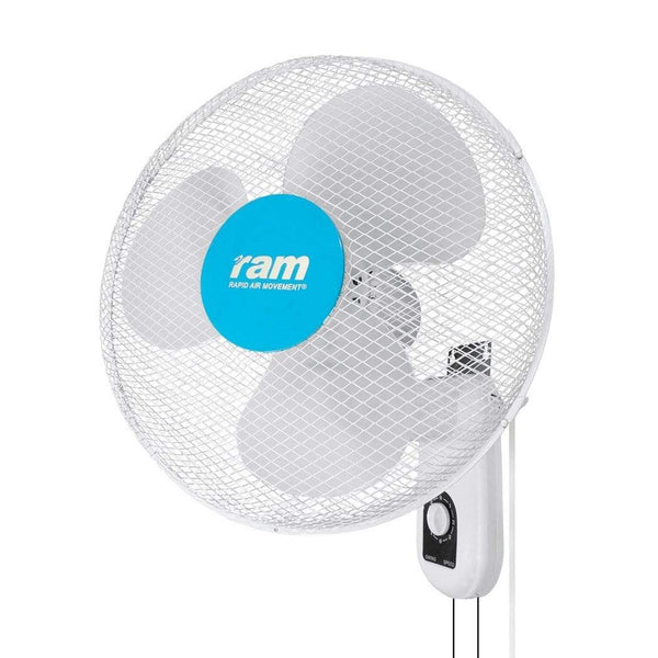 "RAM 400mm (16"") Wall Fan 3 Speed - London Grow"