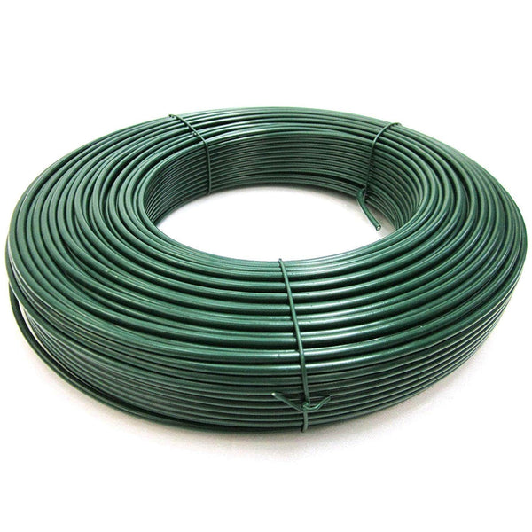 Grow Tools - PVC Coated Gardening Wire - 100m - London Grow