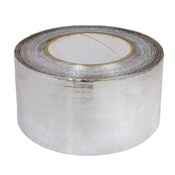 Silver Foil Scrim Weave Tape - London Grow
