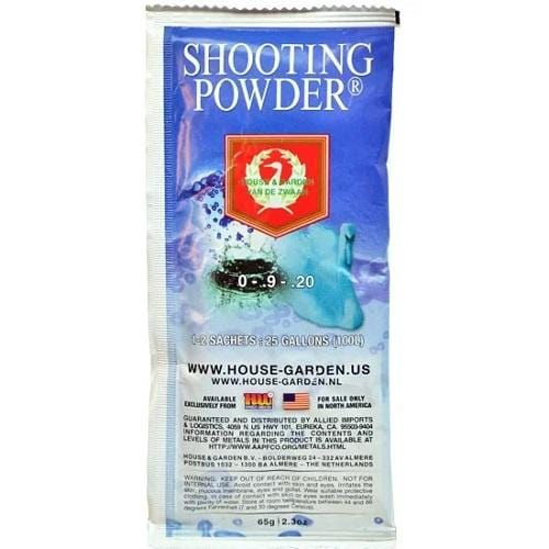 H&G Shooting Powder 5 Sachet/1 Sleeve - London Grow