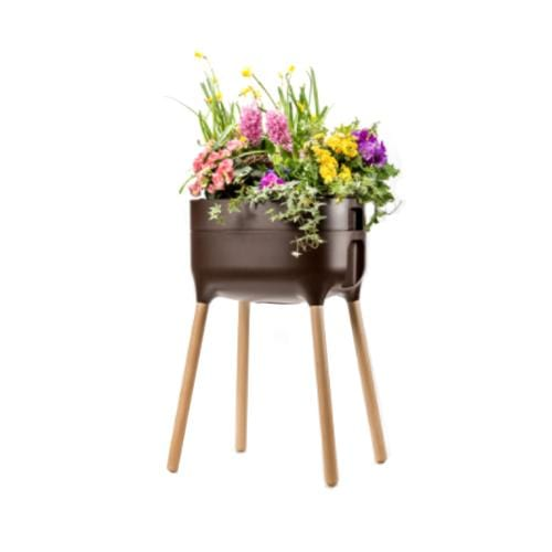 Urbalive Raised Planter Brown - London Grow