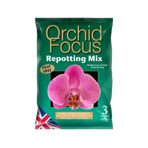 Growth Technology - Orchid Focus Repotting Mix - London Grow