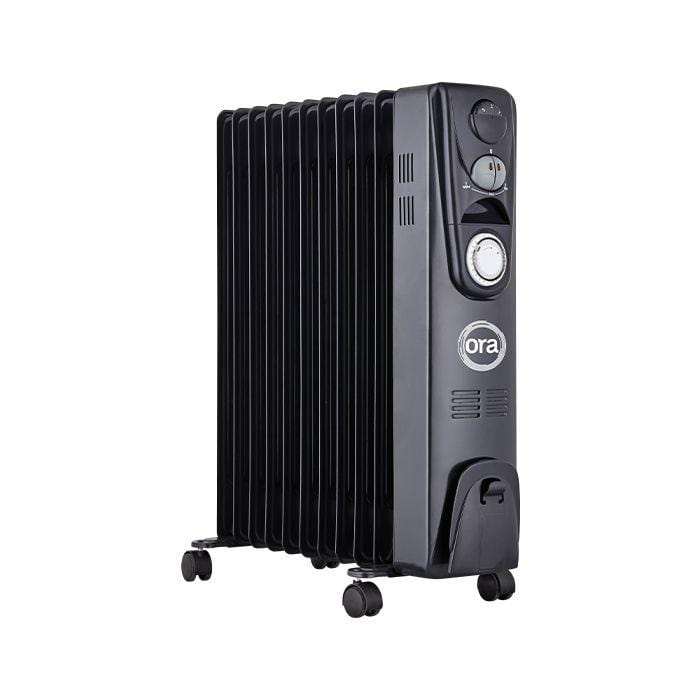 Ora Oil Filled Radiator 2500W Heater with Timer - London Grow