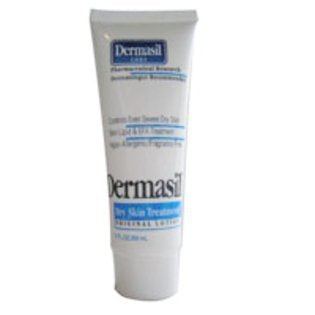 Dermasil 5 Pack Dry Skin Treatment Fragrance Free Moisturizing Cream, Original Formula - 2 Oz Total 10 Oz