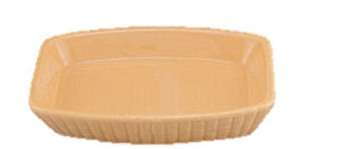 Ribbed Ceramic Bath Accessories Tan/Peach Soap Dish (1pc)