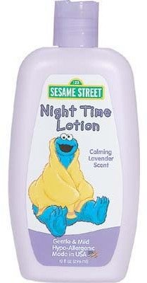 Sesame Street Night Time Lotion - 10 oz. Case Pack 6