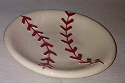 Sports: Baseball Ceramic Stoneware Bathroom Accessories (Soap Dish)