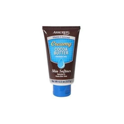 Assured Creamy Cocoa-Butter Petroleum Jelly, 3 oz. Tubes Pack of 2
