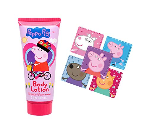 Peppa pig body lotion bundle with stickers